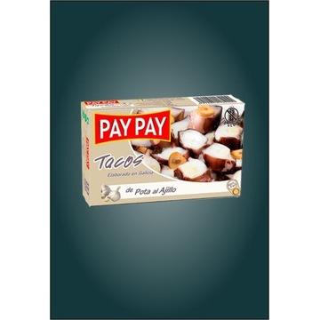 Ośmiornice tacos Pota z czosnkiem Pay Pay