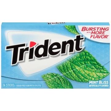 Guma Trident Mint Bliss 14 szt. USA