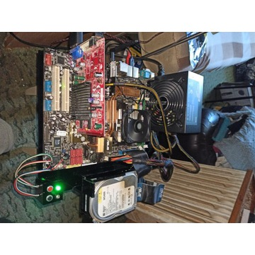 Platforma testowo-serwisowa płyt głównych ATX mATX