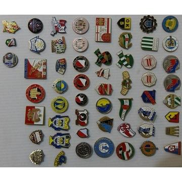 odznaki klubów sportowych 56 szt