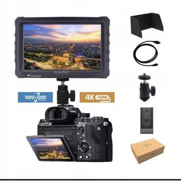 Lilliput A7s 4K Monitor podglądowy FullHD 4K 7cali