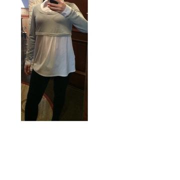 Bluzka koszulowa ciążowa do karmienia rozm. M