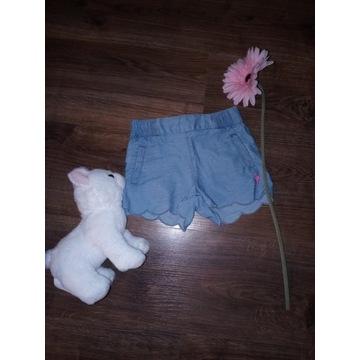 Spodenki Cool Club jeans jeansowe r.92
