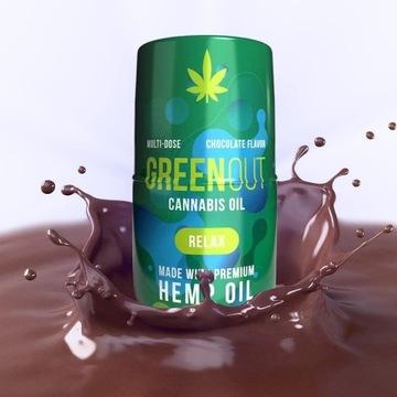Olejek Konopny GreenOut CBD THC Green Out