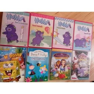 Bajki dla dzieci DVD 8 szt + 2 gratis