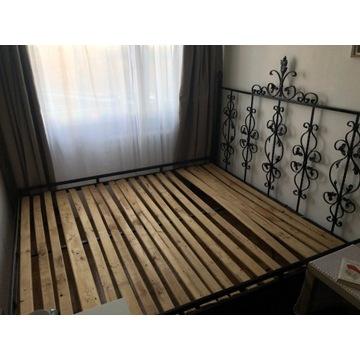 Łóżko / łoże małżeńskie / ręcznie robione