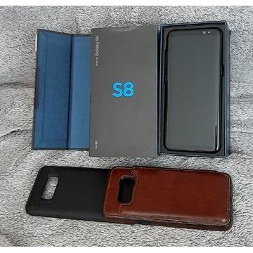 Samsung galaxy S8 + 2 x etui (Spigen)