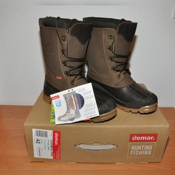Buty Demar Caribou Pro 42 śniegowce kalosze