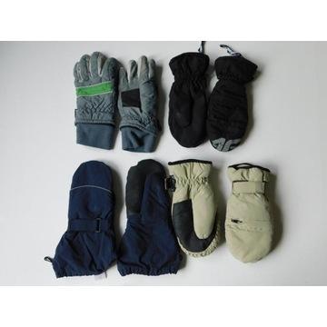 Rękawiczki – zestaw 4 pary