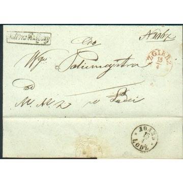Królestwo Polskie - Zgierz - 1860 r. - Interes