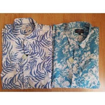 HAMPTON REPUBLIK koszula hawajska rozm.XL zestaw