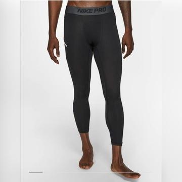 Nike Pro legginsy treningowe, do koszykówki 3/4