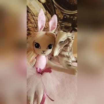Maskotka baletnica handmade