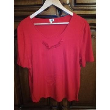Damska czerwona koszulka firmy Magbel, rozmiar 50