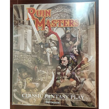 Ruin Masters Collectors Box RPG setting rpg nowy