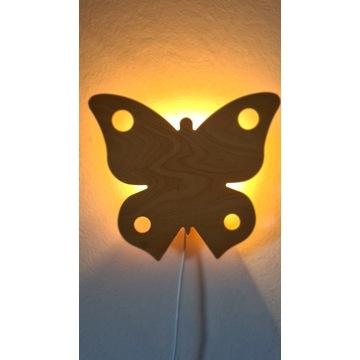 Lampka nocna dla dziecka MOTYL