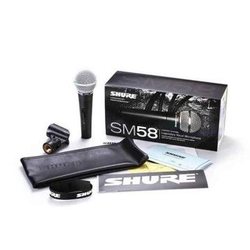 ! OKAZJA! Nowy mikrofon Shure SM58 legenda najtani