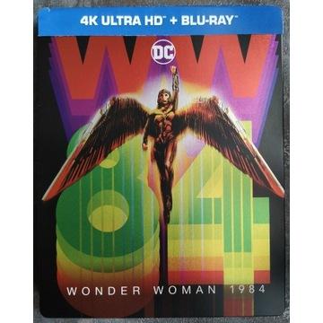 WONDER WOMAN 1984 Steelbook 4K UHD + blu-ray