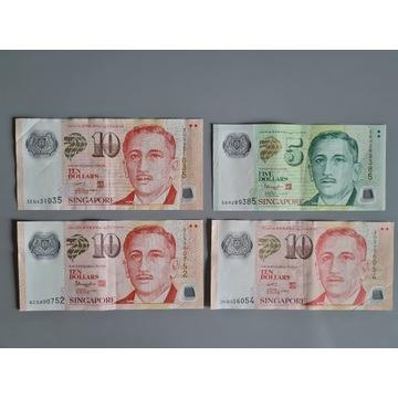 Singapur - 5 i 10 Dolarów
