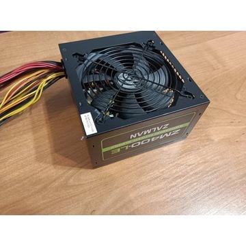 Zasilacz ZALMAN 400 W ZM400-LE PCIe cpu(4+4)