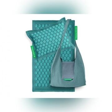 Zestaw do masażu -mata  poduszka  torba  PRANAMAT