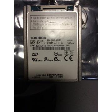 """Dysk HDD TOSHIBA ZIFF 1,8"""" 60GB"""