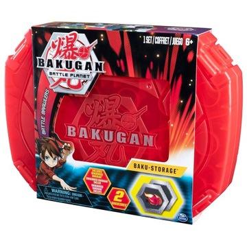 Spin Bakugan Walizka kolekcjonerska + Dragonoid