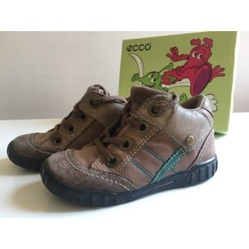 ECCO trzewiki na jesien skora r.25 jak nowe buty