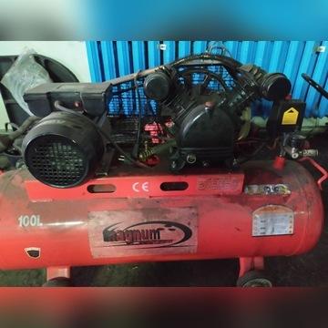 Sprężarka kompresor 100l zasilanie 230V