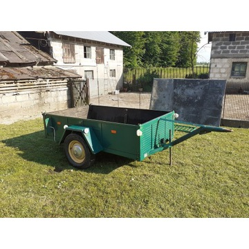 Przyczepa, przyczepka ciężarowa rolnicza 1500kg