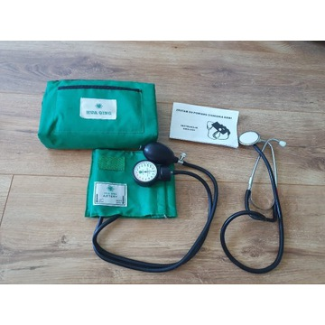 Ciśnieniomierz zegarowy ze stetoskopem Hua Qing
