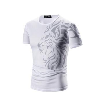 Koszulka ze wzorem lwa