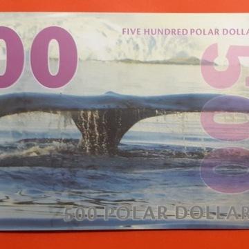 500 dollar. arctic polimer ser A 1191 . UNC