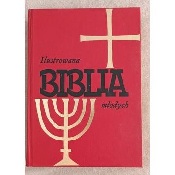 Ilustrowana Biblia Młodych grube wydanie 1988