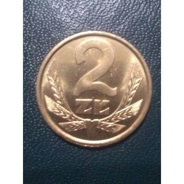 2 zł z 1986 roku mennicza 2-