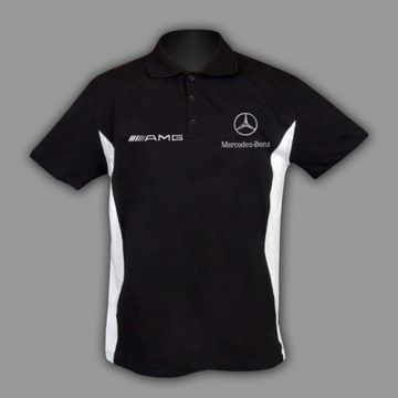 MERCEDES KOSZULKA T-Shirt Polo Haft z EUROPY S-6XL