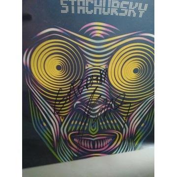 Stachursky - plakat z autografem
