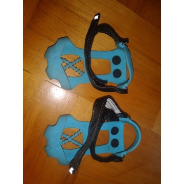 Raczki na buty dziecięce niebieskie