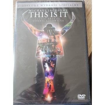 Michael Jackson THIS IS IT 2-dyskowe wydanie speci