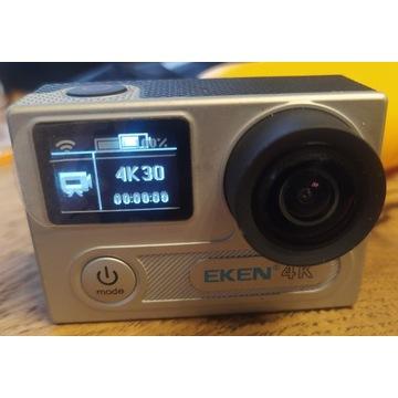 Kamera sportowa EKEN H8 PRO Silver 4k zestaw