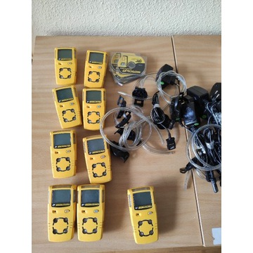 9 sztuk czujnik wielogazowy GasAlert MicroClip XT
