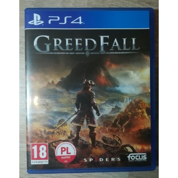 GreedFall na PS4