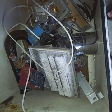 Piec kondensacyjny Buderus 24 KW z 2002 r