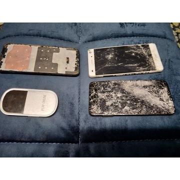 Licytacja smartfonów 4x HUAWEI USZKODZONE