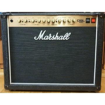 Zestaw Marshall DSL40C+footswitch+Neutrik