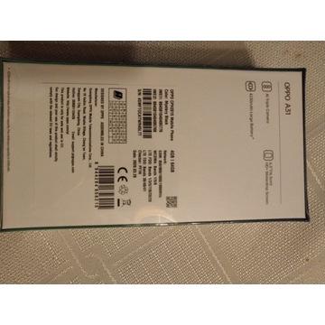 Smartfon Oppo A31 Black fabryc nowy nierozpakowany