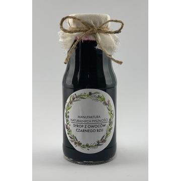 Syrop z owoców czarnego bzu 300 ml