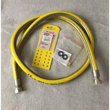 Metalowy, elastyczny przewód do gazu