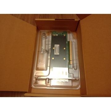 Nowy kontroler LSI Broadcom 9405w-16e sas sata hba