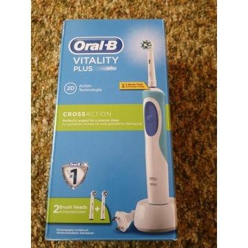 Oral b vitaliti plus CROSS ACTION. Nowa!